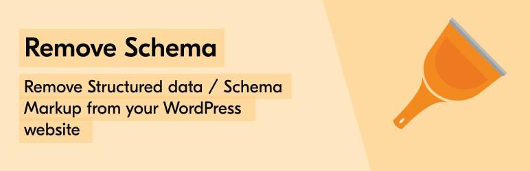 Remove Schema WordPress plugin