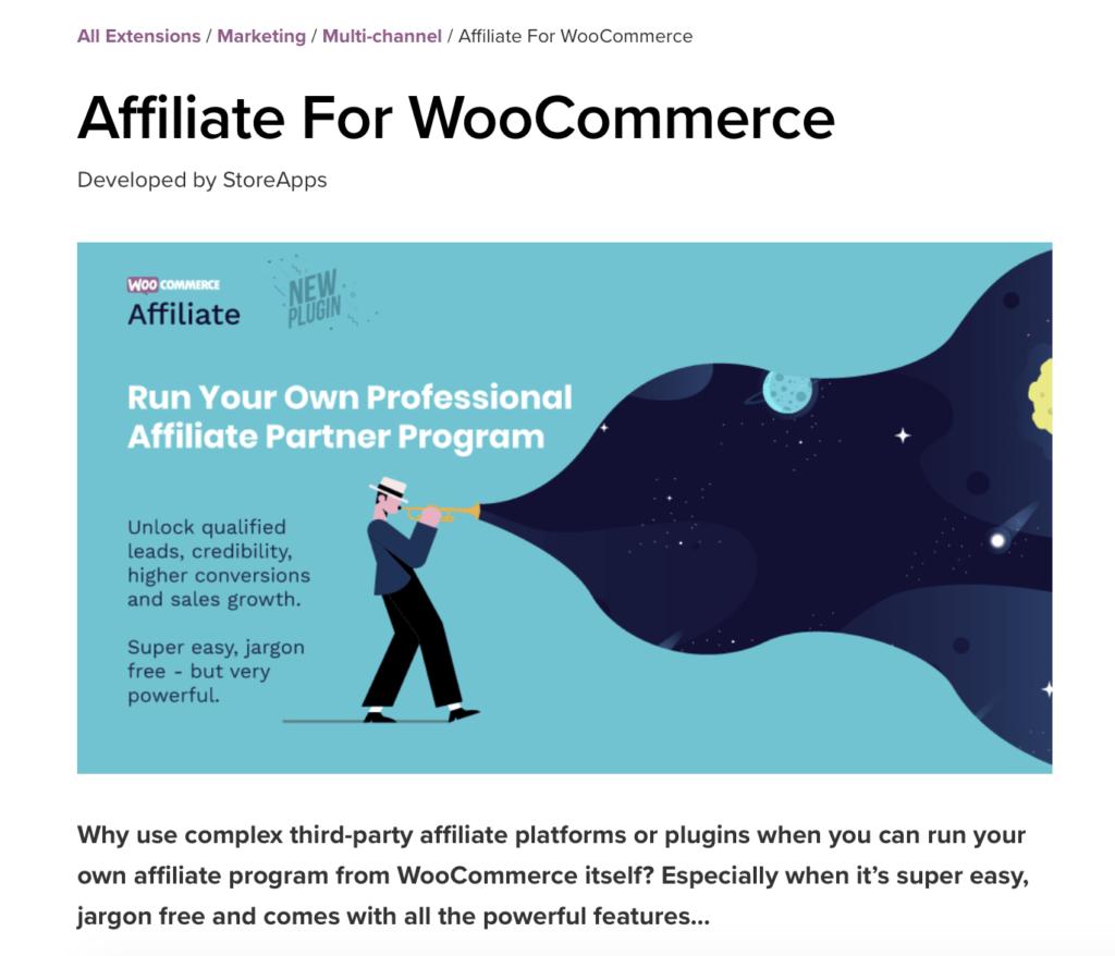 Affiliate voor WooCommerce